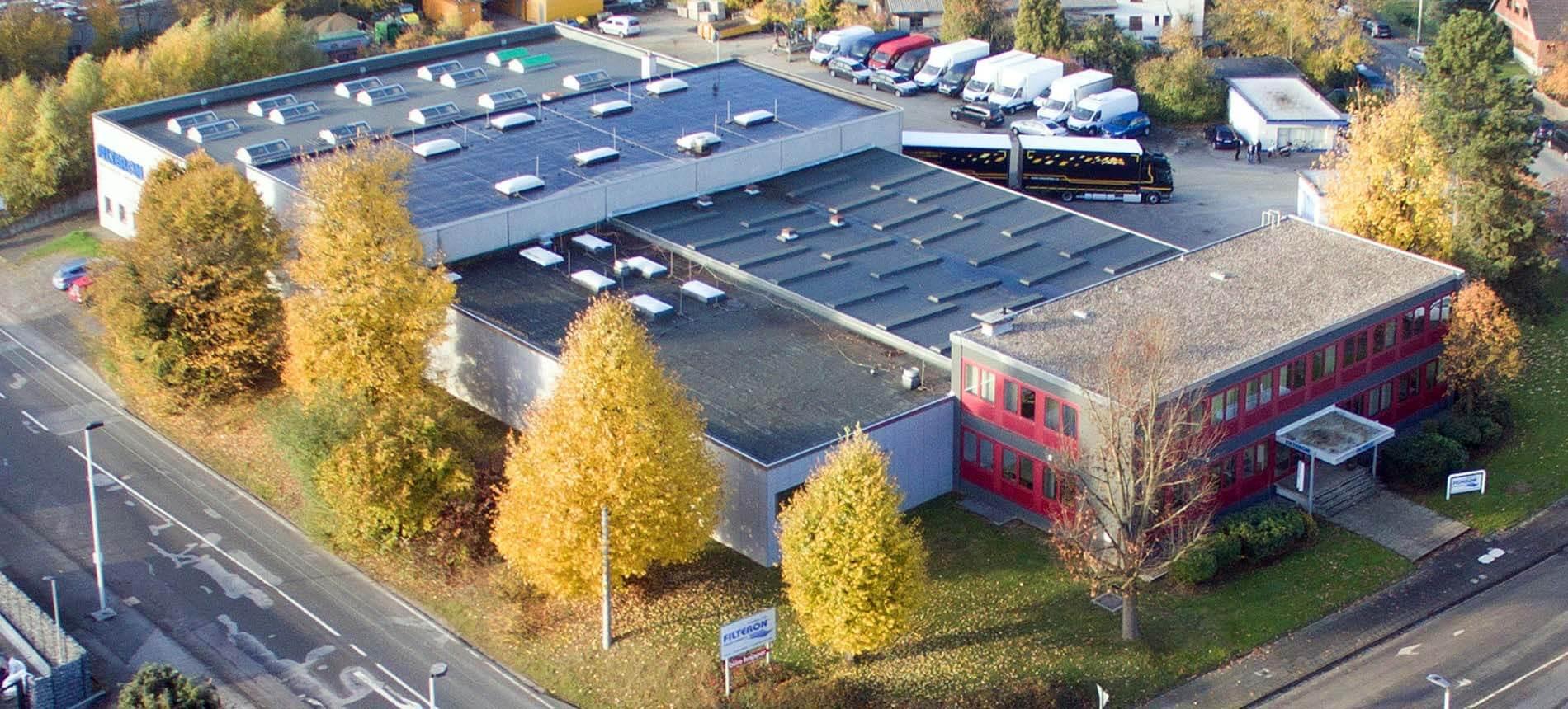 Filteron GmbH Solingen Firmengebäude