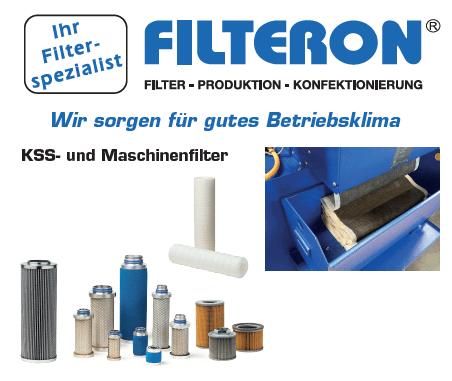 Filteron KSS-Filter und Maschinenfilter